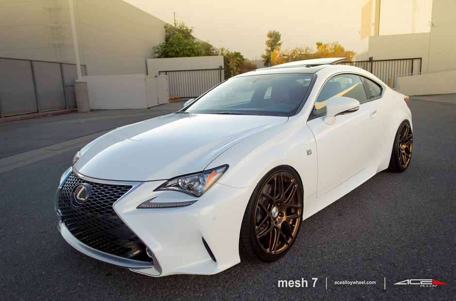 "MESH 7 D715 Lexus RC350 F Sport Custom 20"" Aftermarket Wheels"