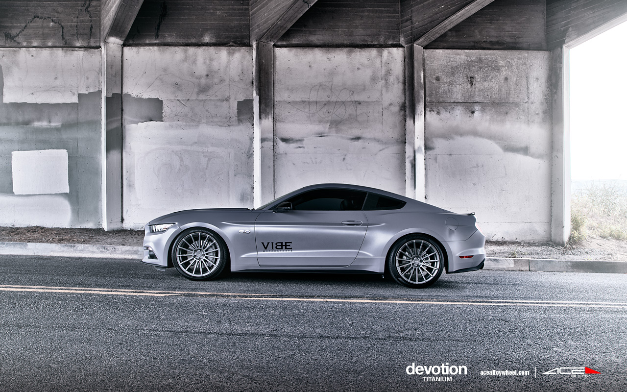 "20"" wheel Titanium Devotion D718 Ford Mustang avail.Metallic Silver"