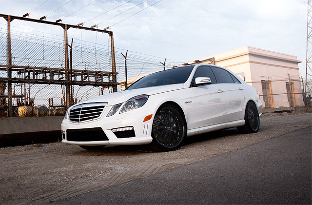 "20"" wheel Matte Black Eminence D709 Mercedes-Benz E63 AMG avail. Silver"