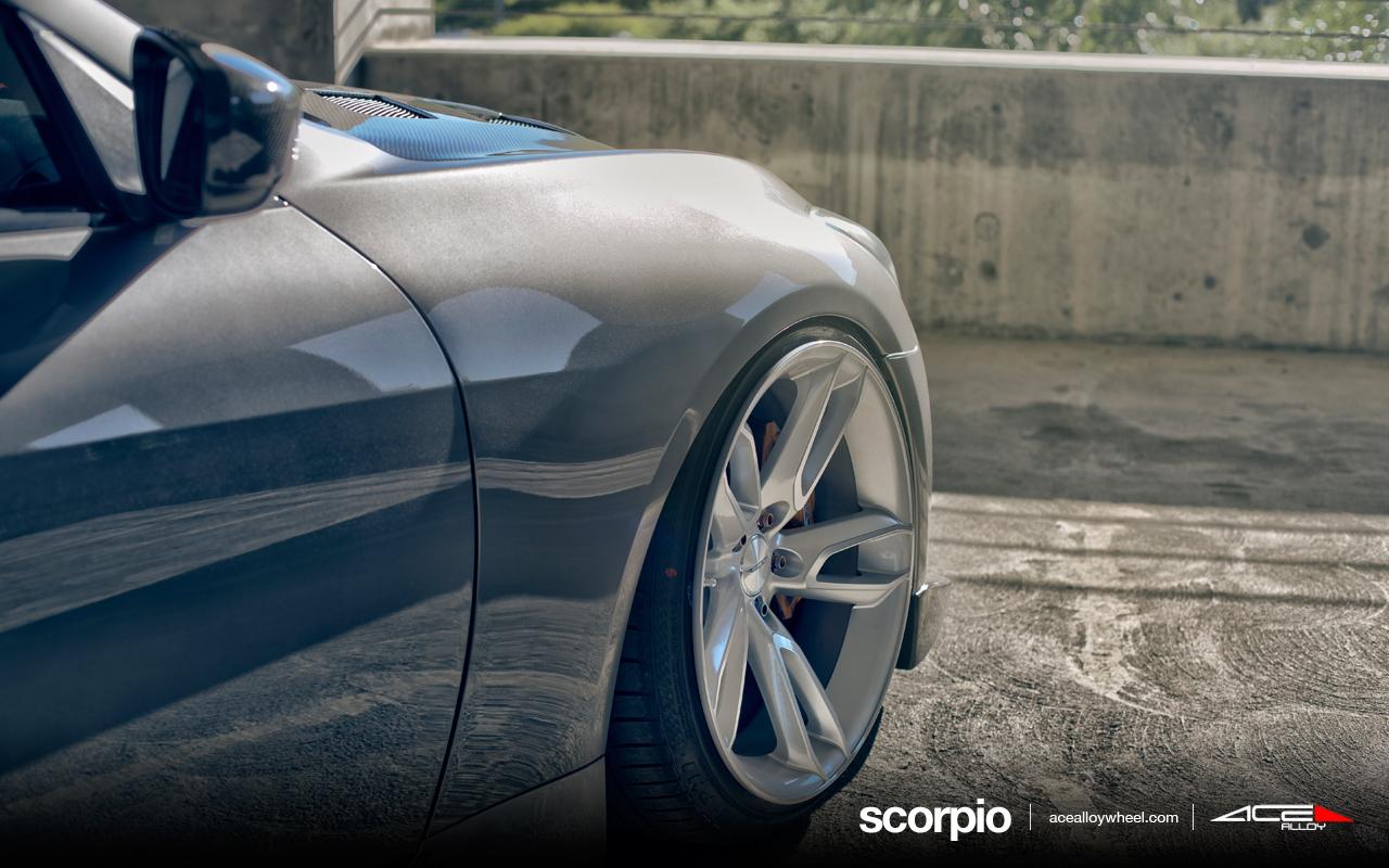 "20"" wheel metallic silver scorpio c902 infiniti g37 avail.20"" &22"""
