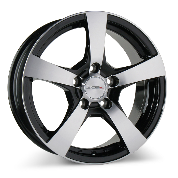 CINCO C873 Black with Machined Face wheels & rims