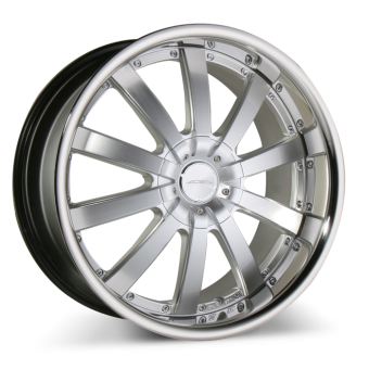 EXECUTIVE C853 Hypersilver with Stainless Steel Lip wheels & rims