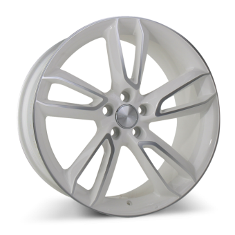 SCORPIO C902 White with Machined Face wheels & rims