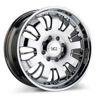VOLT ( 1PC CAST) C811B Chrome wheels & rims